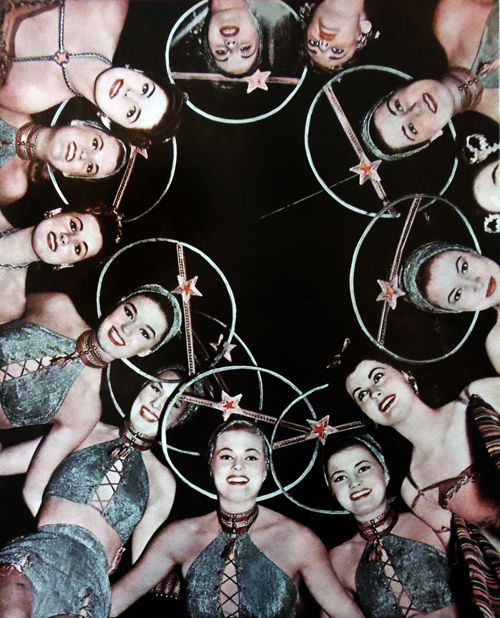 vintagegal:  The women of Venus in Abbott and Costello Go to Mars (1953)