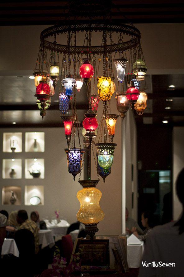 Beautiful Souk Chandelier Amazing Jewel Colors Ebay Ceiling