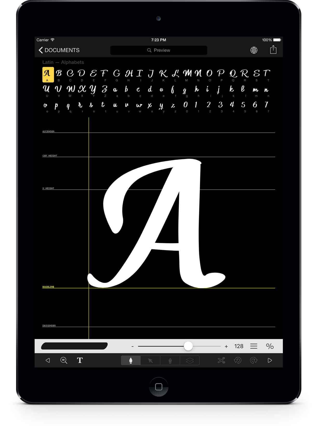 iFontMaker – Create your font in 5 minutes on your iPad