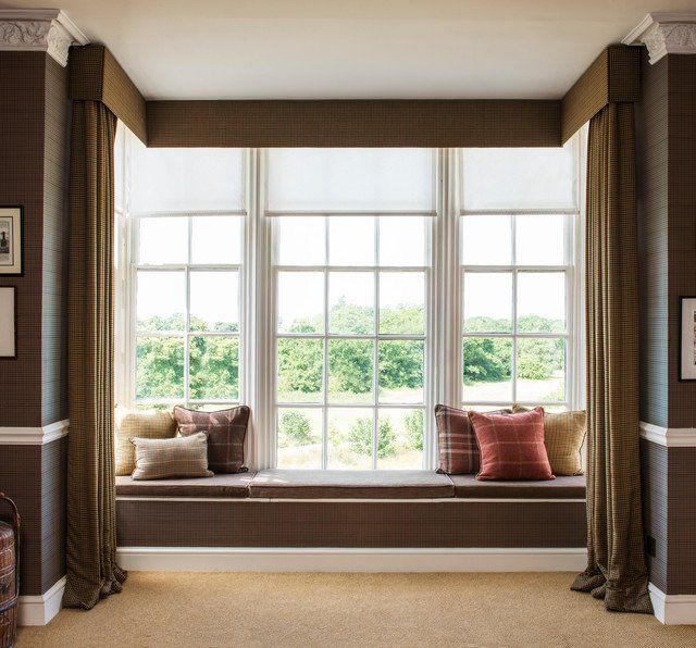 18 Snug Window Seat Designs That Are Must Have In Your Dream Home Window Seat Design Bay Window Curtains Cool Curtains