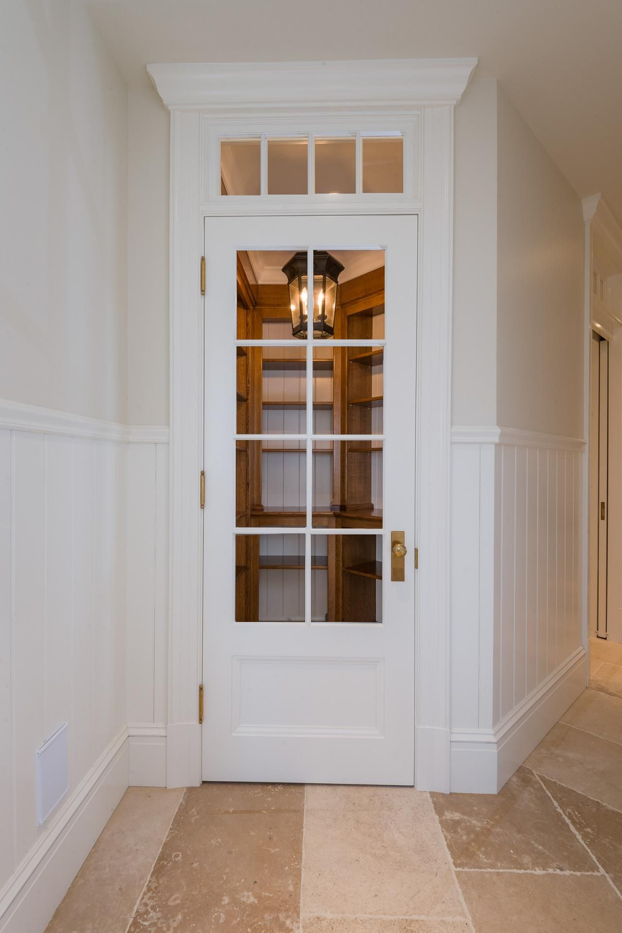 A Gourmet Kitchen Needs A Gourmet Pantry This Walk In Pantry Serves All The Food Storage Needs Kitchen Pantry Furniture Pantry Furniture Corner Kitchen Pantry