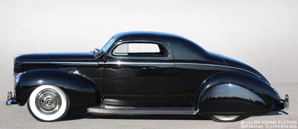 Restyling The 1940 Ford Coupe Custom Car Chronicle 1940 Ford Coupe 1940 Ford Custom Cars