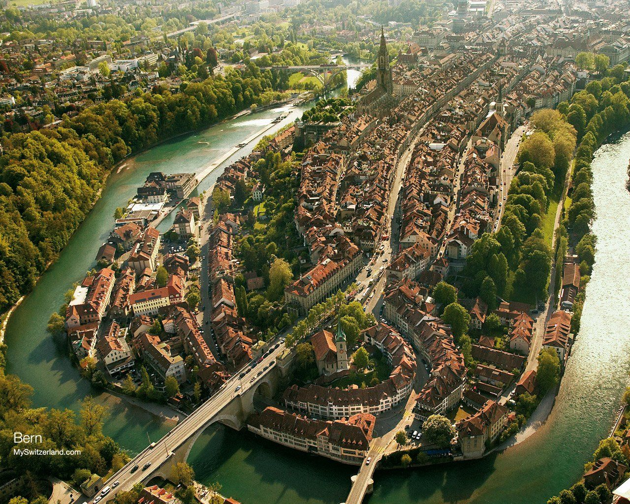 Town of Bern in Switzerland!