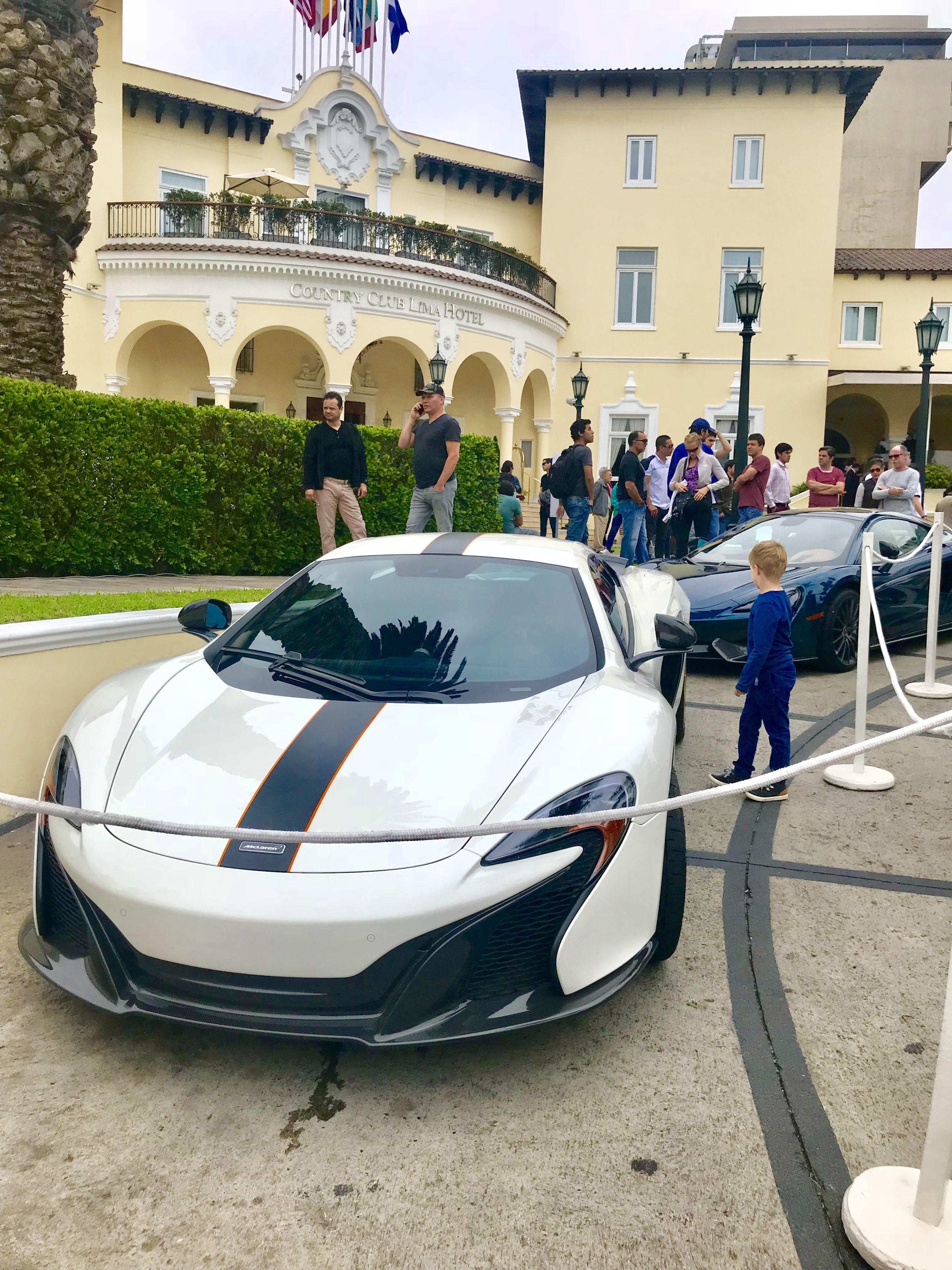 Mclaren Luxevaca Luxury Car Photo In Lima Peru Show Excellence Around The World