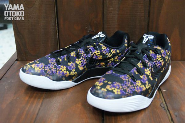 sports shoes 85318 c52d5 ... promo code for nike kobe 9 em floral gs fashionably flowery feet 634c5  30876