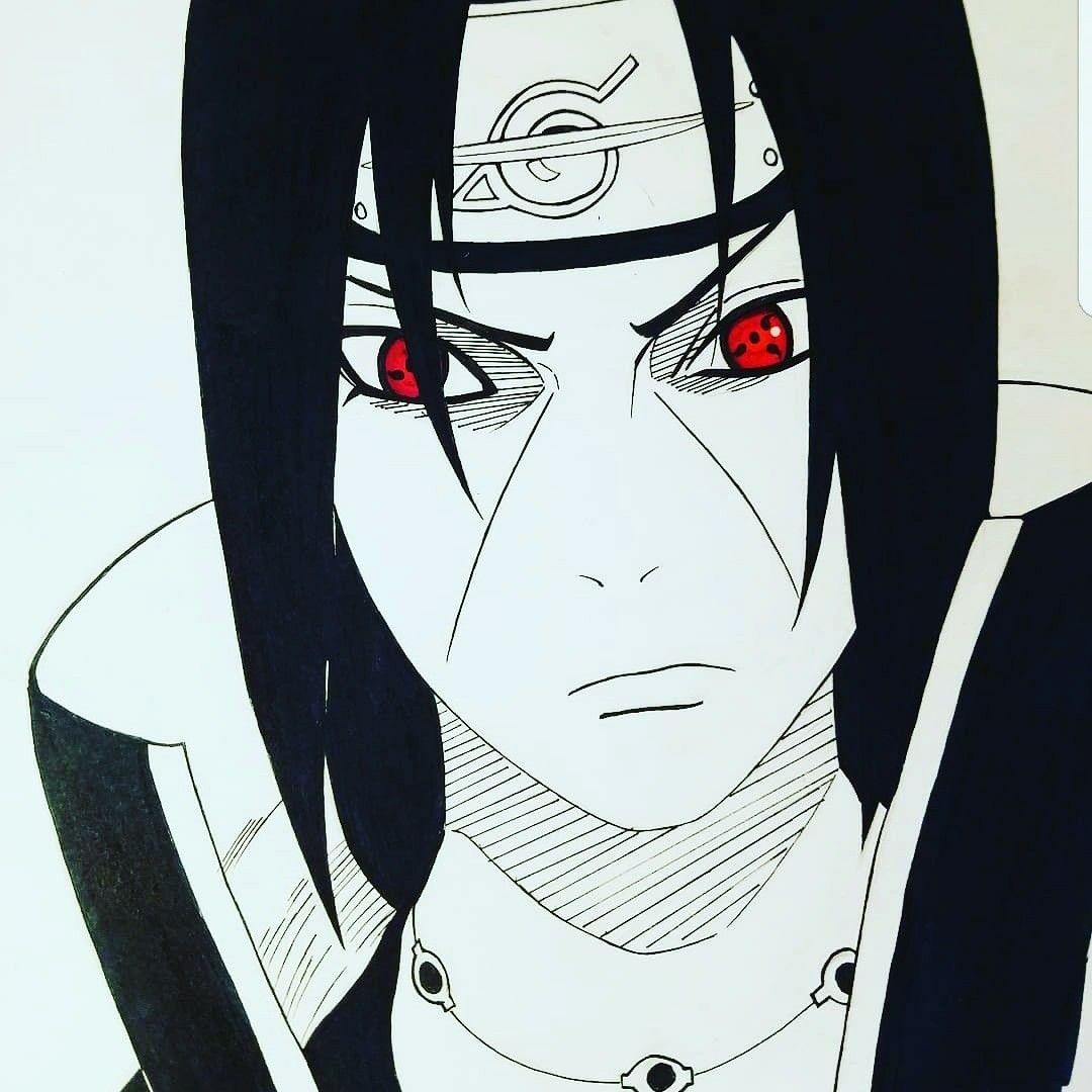 Itachi Uchiha Fan Art by Instagram jays_sketchpad anime