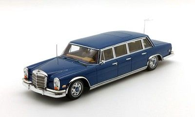 1969 Mercedes-Benz 600 Pullman Blue Elvis Presley 1:43 Scale Car by TSM-Model 144339. Expected delivery for this car is in August/September (updated 7/9/2015). RESERVE NOW FOR FUTURE DELIVERY!