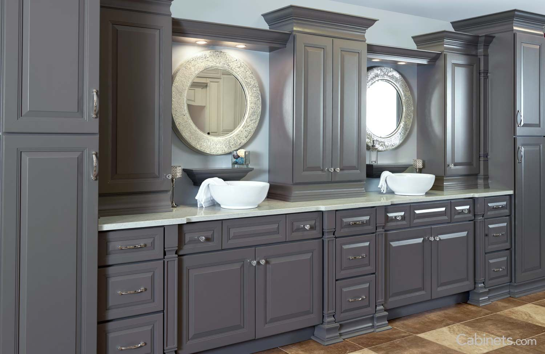 Belmont Rta Birch Gibraltor Gray Cabinet Custom Kitchen Cabinets Discount Cabinets