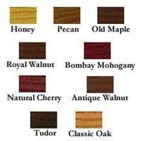 Minwax co inc 00361000 polyshade color chart furniture refinshing