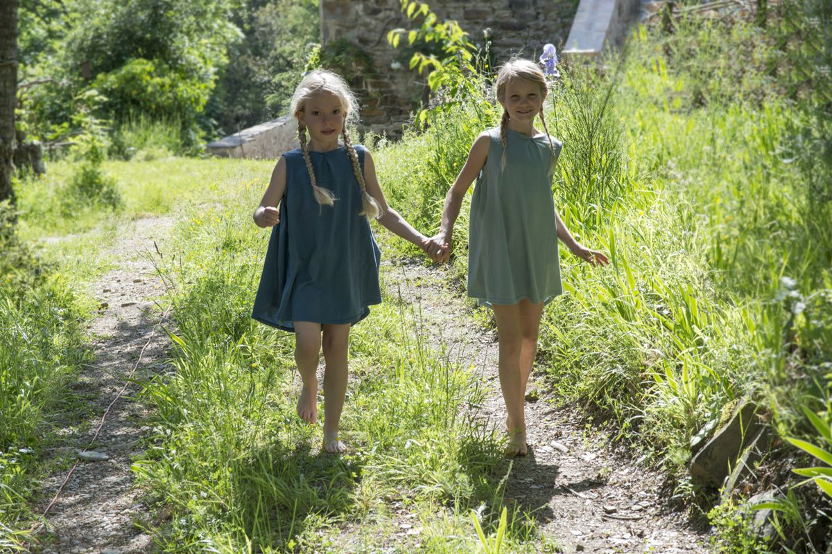 Locally produced kids collection by Inge de Jonge, Shop & e-shop South France.