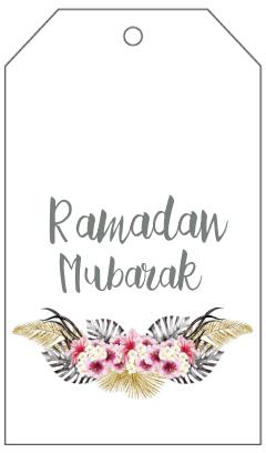 Kostenloser Druck Ramadan Dekorationen | Die Muslimah Führer