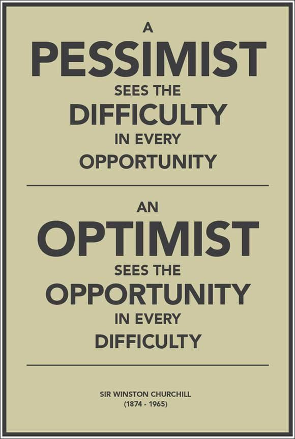 Image result for pessimism vs optimism