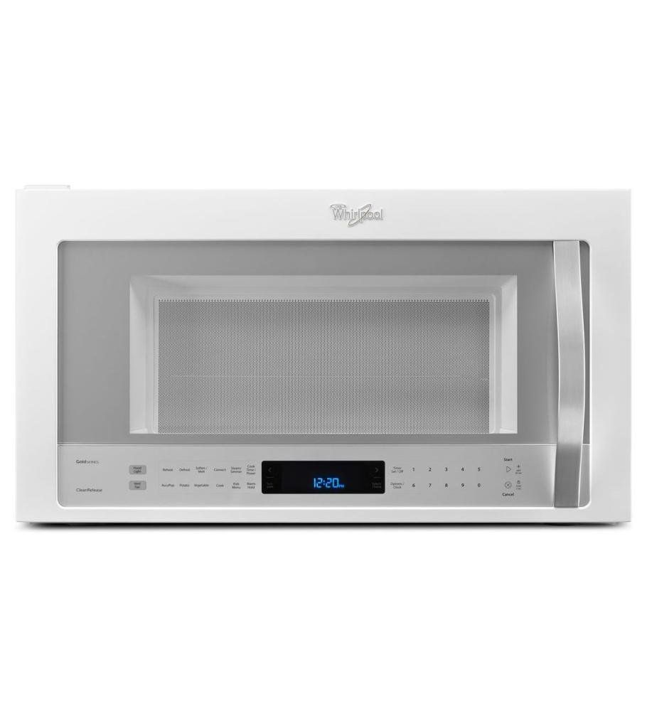 The Whirlpool Wmh76719ch 30 Over Range Combination Hood Microwave With 1 9 Cu Ft