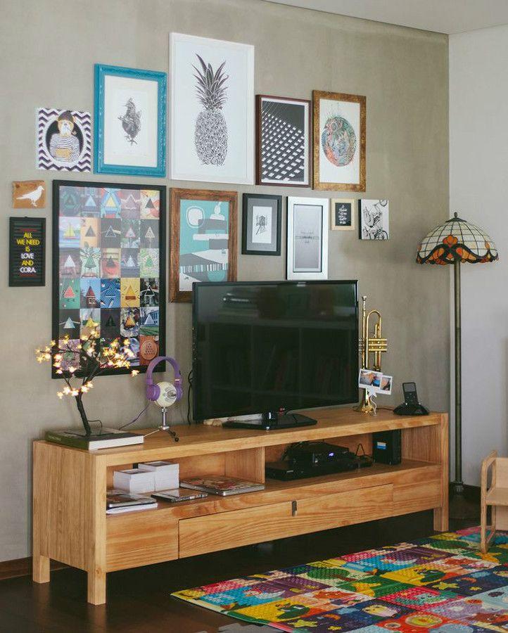 Mueble tv tania muebles salon peque o decoracion y decoraci n hogar Muebles para salon pequeno