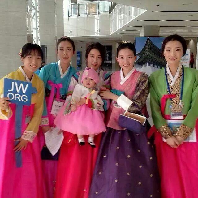 Sisters in South Korea