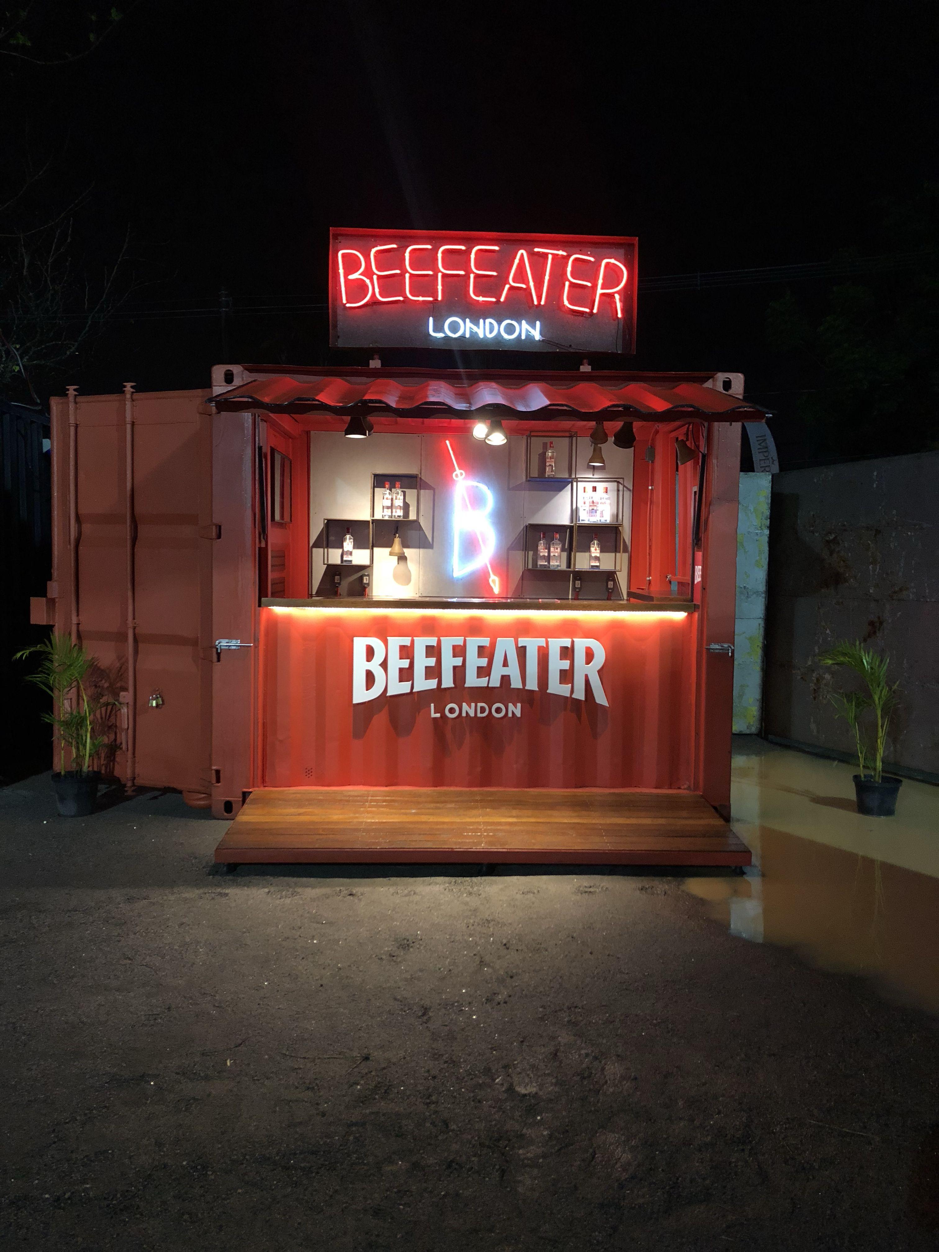 Container Baby 10 Beefeater Bar Desain Restoran Kedai Kopi Truk Makanan