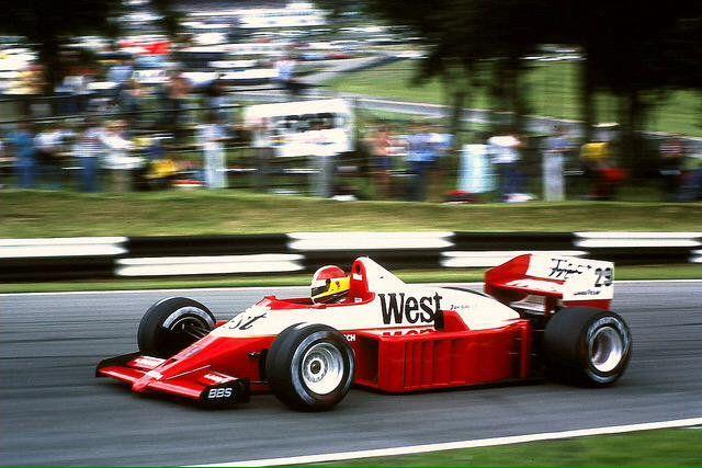 Huub Rothengatter, Zakspeed, Brands Hatch - Great Britain - 1986. #Formula1 #F1