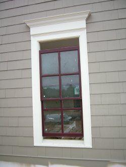 Exterior Vinyl Window Trim House Ideas Pinterest