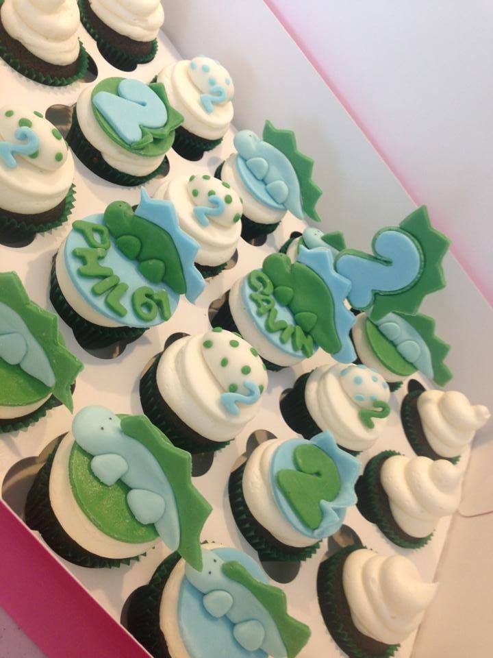 Dinosaur Fondant Cupcake toppers Kids Dinosaur Cupcakes Dinosaur