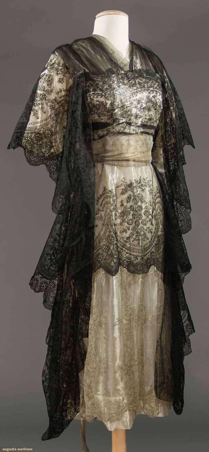 Chantilly lace u lame dress c empire chantilly lace u skirt