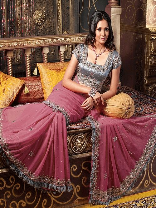 Sari or Saree is a traditional dress in South Asian