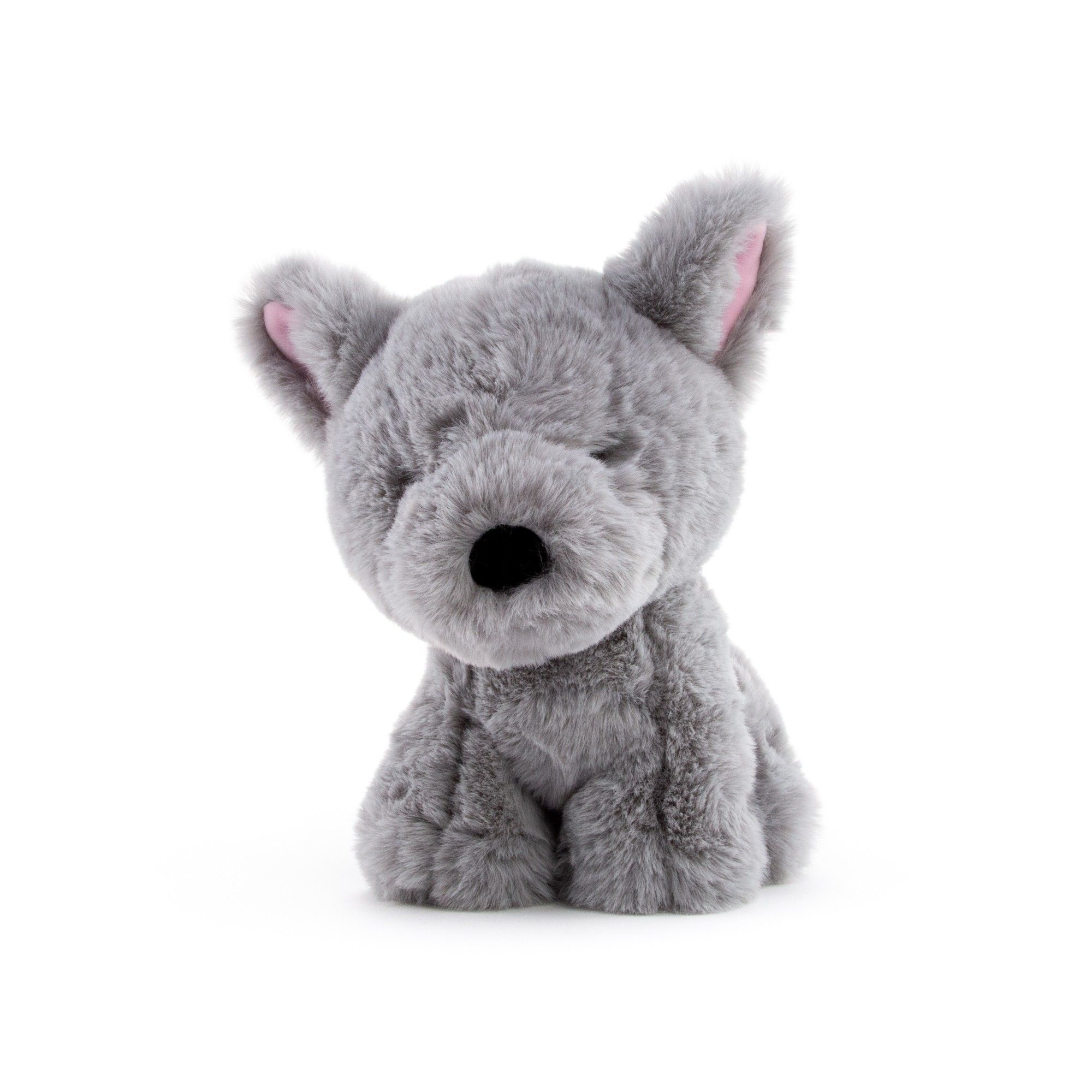 World's Softest Stuffed Animals, Grey Dog in