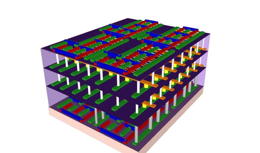 3D Computer Chips Could Be 1,000 Times Faster Than Existing Ones
