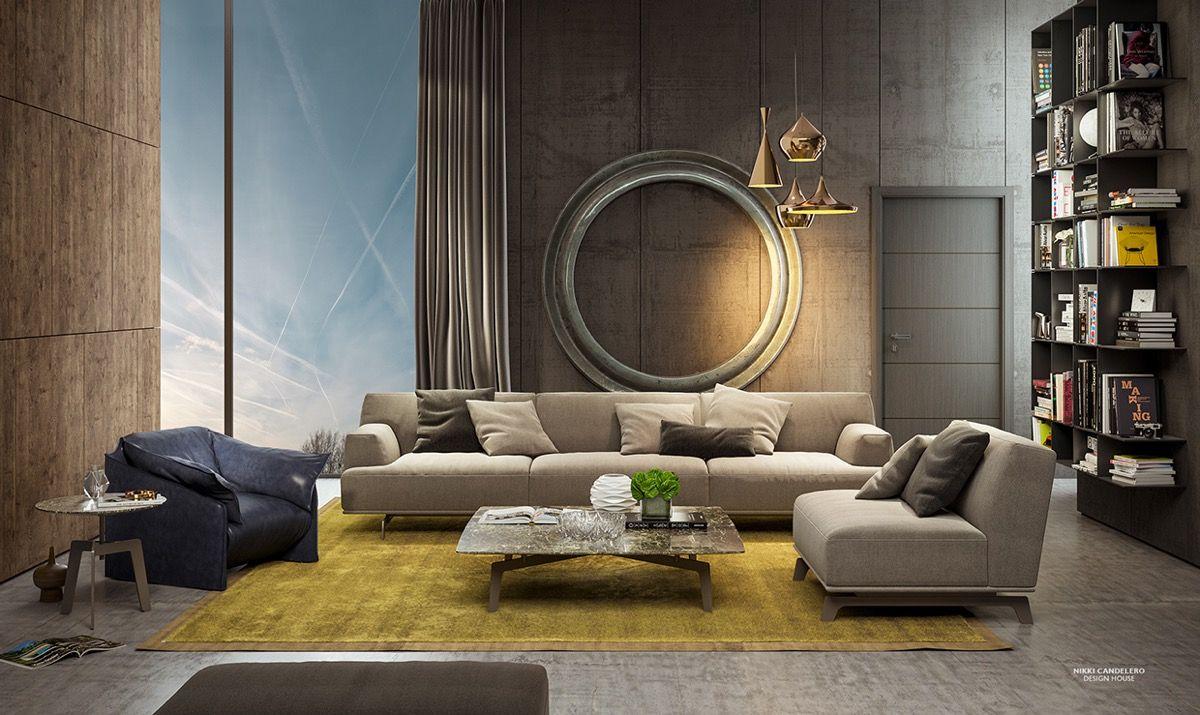 Elegant Nice Perfect Dark Shades Room Idea With Minimum Budget