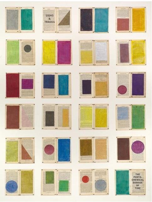 WILLIAM KENTRIDGE Colour Chart, 2013