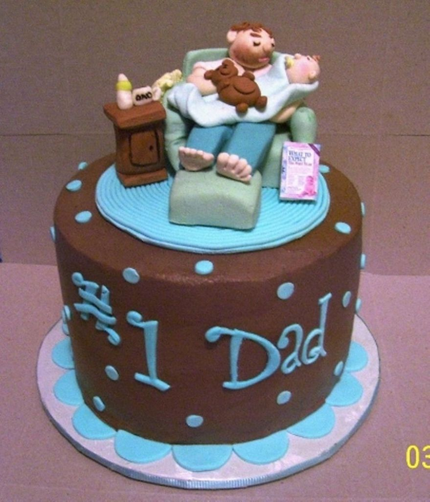 The Most Stylish Birthday Cake Ideas For New Dad Daddy