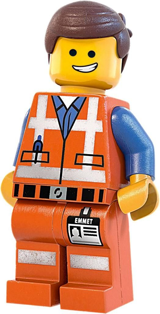 Emmet Lego Movie Decal Removable Wall Sticker Home Decor Art Kids ...