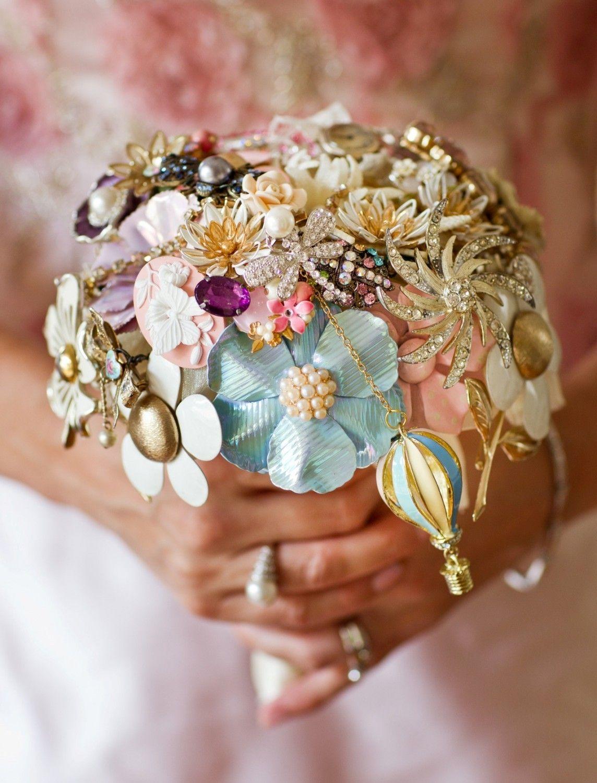 Красивые необычные свадебные букеты, цветов тула леруа