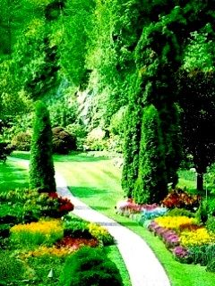 Beautiful Garden Wallpaper Beautiful Gardens Garden Mobile Wallpaper
