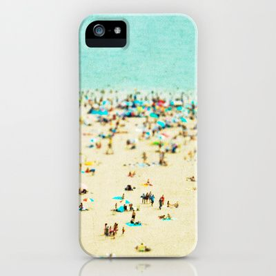 Coney Island Beach iPhone & iPod Case by Minagraphy - $35.00 | I wish it was still summer solely for this case!