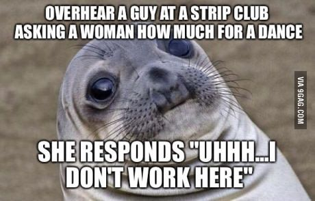 I'm sure she gets that all the time