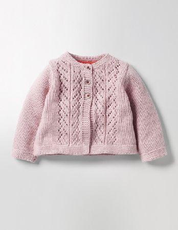 d7a0df1218d2 Baby Cosy Cardigan Milkshake Pink Baby Boden
