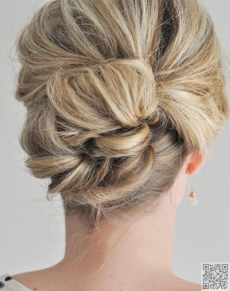 the easier than it looks updo easy updos that you can do