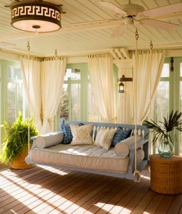 La balancelle de jardin - le mobilier pour un patio ...