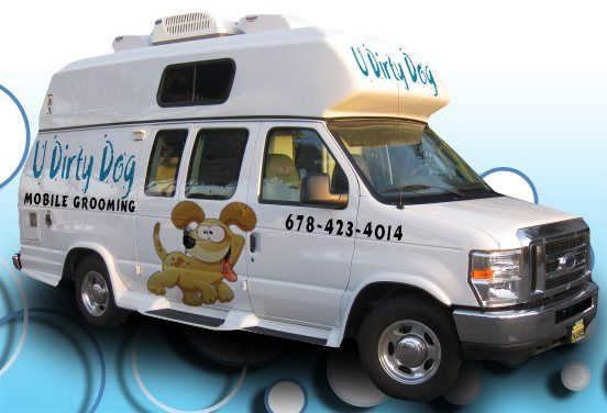 Bubbles Is A Mobile Grooming Van That Will Come To Your Rescue Mobile Pet Grooming Dog School Low Maintenance Dog Breeds