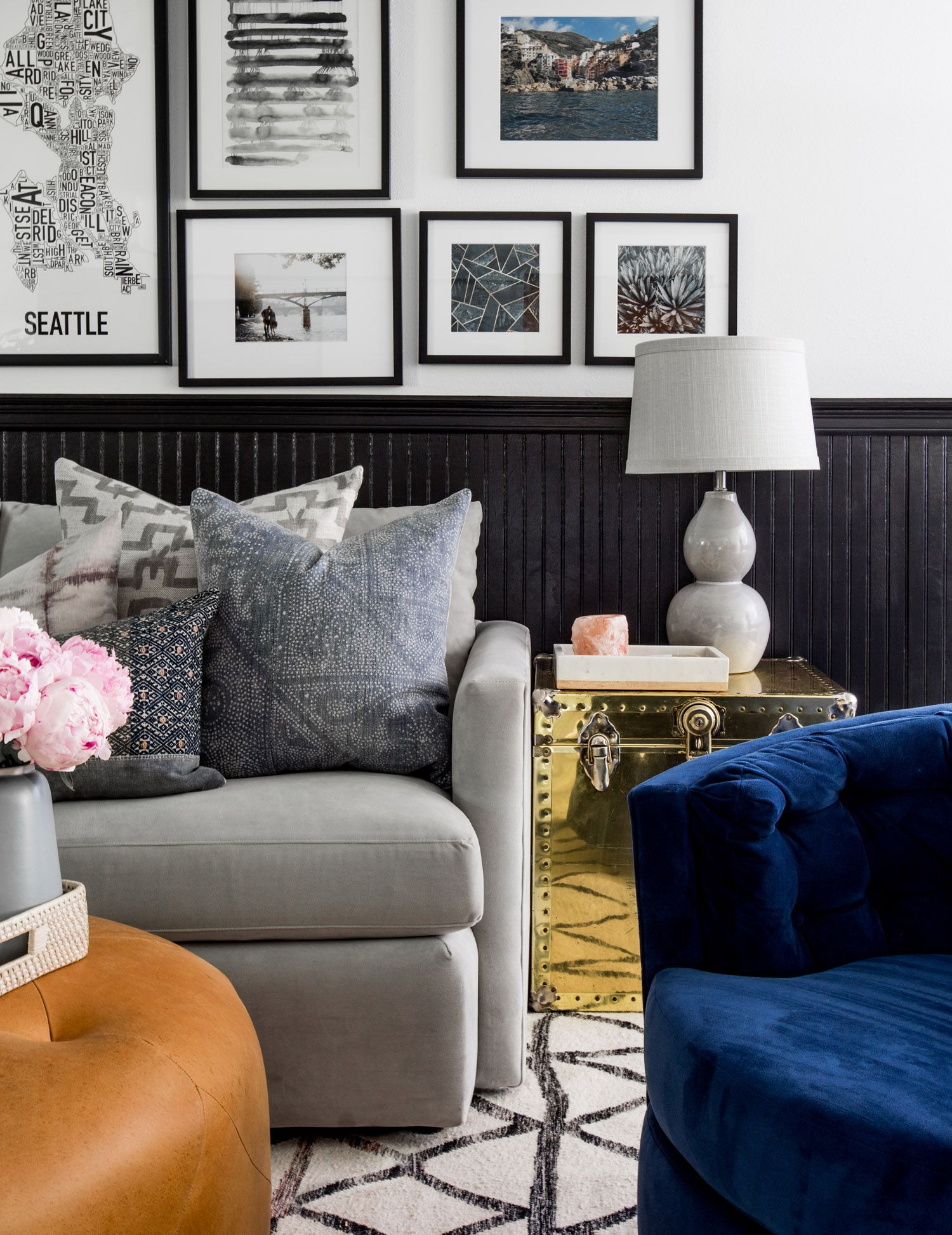 west elm Eclectic Glam Style In