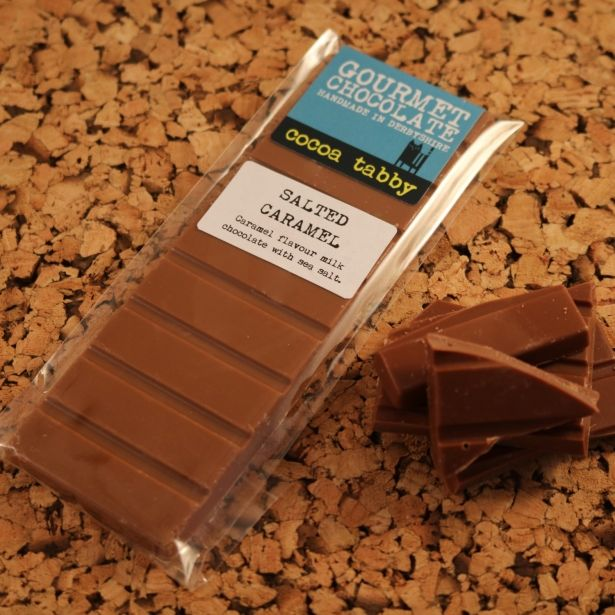 "Milk Chocolate ""Salted Caramel"" Bar"