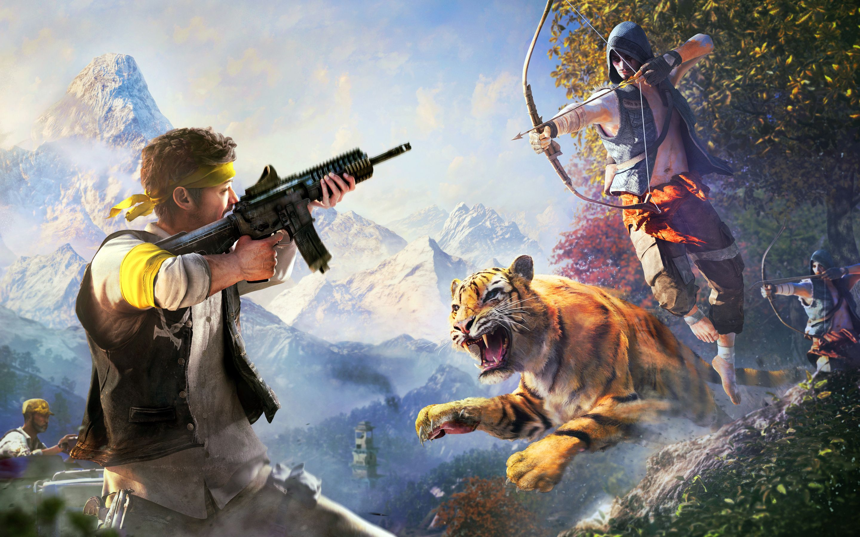Video Game Art Far Cry 4 Far Cry 4 4k Gaming Wallpaper Gaming Wallpapers