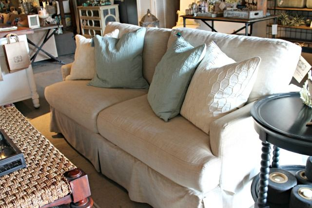 Slipcovered Morgan Sofa From Four Seasons
