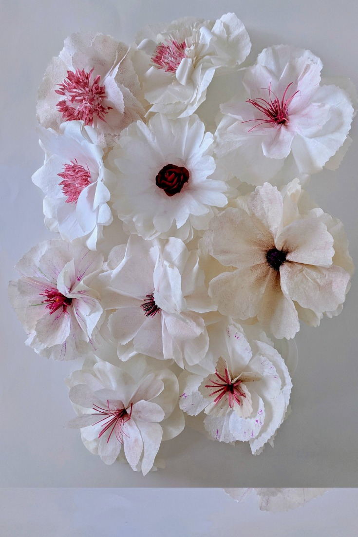 Make Various Types Of Paper Flowers By Changing Centers All Coffee