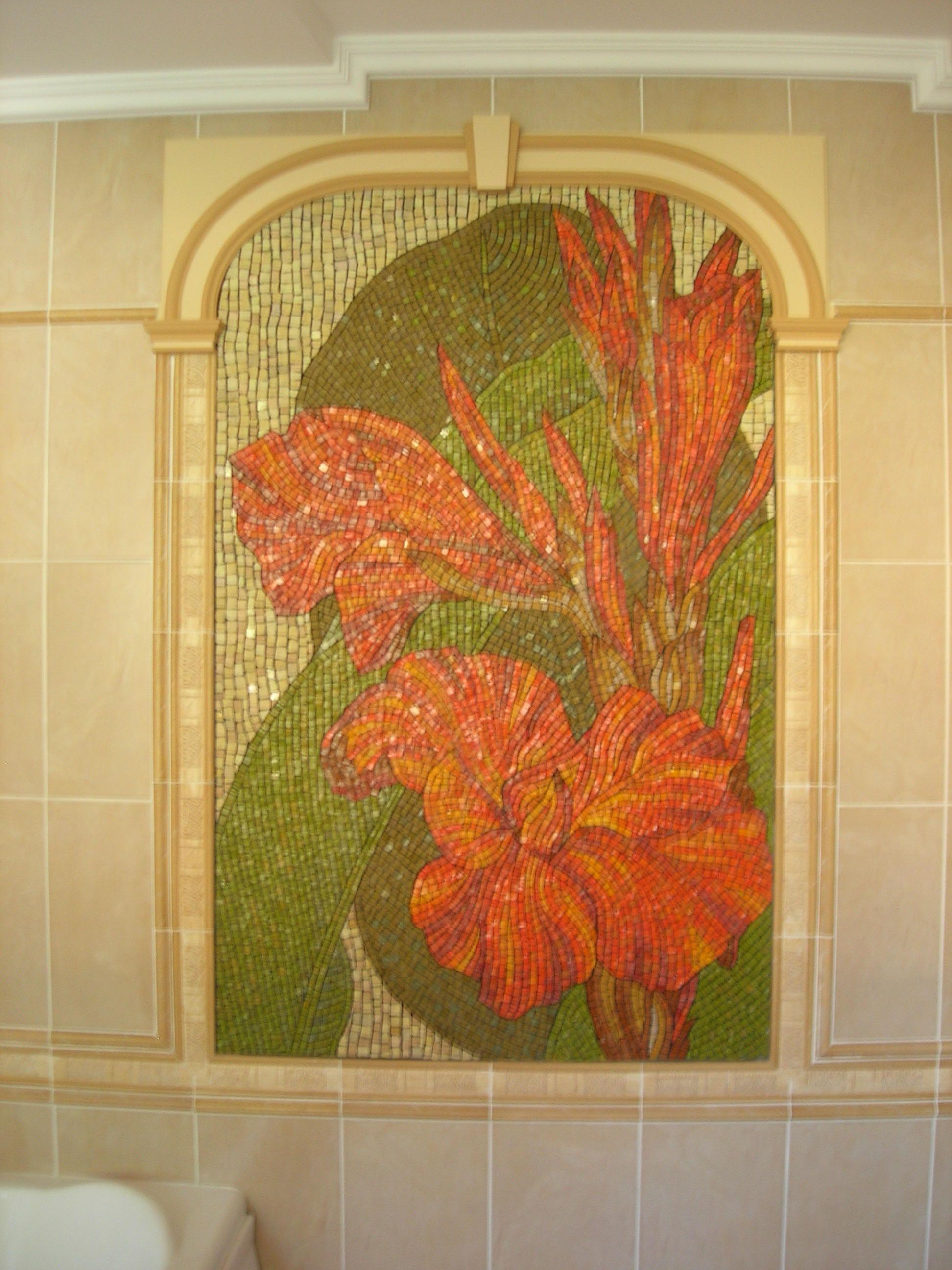 Mosaic art Mosaic wall panel Mosaic mural Extra large wall art ...