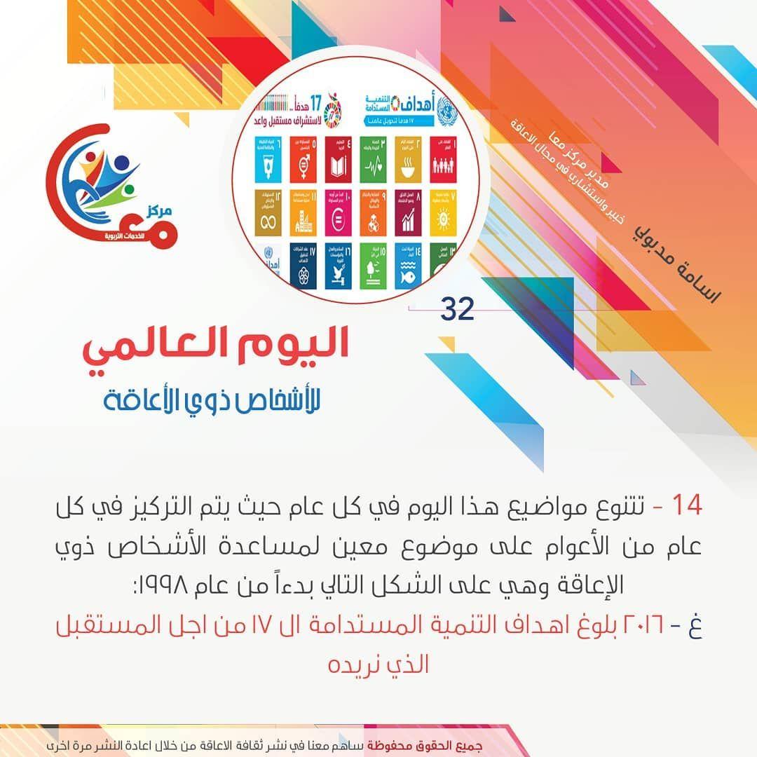 اليوم العالمي للاشخاص ذوي الاعاقة الاعاقة اعاقة توعية اسامة مدبولي Osama Madbooly Natinal Day Disability Awerenessdayاسامة مدبو Chart Pie Chart Diagram