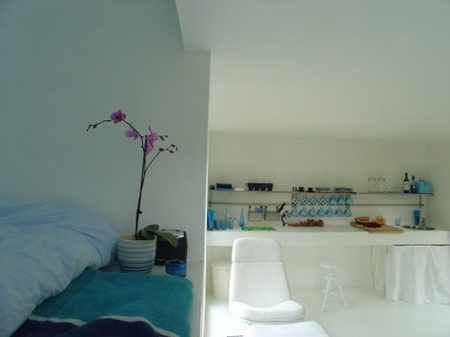 Tommie Wilhelmsen: Casa Kolonihagen, Stavanger, Norway #cabin #kitchen #sleeping_loft