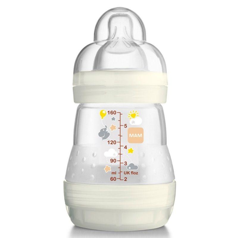 Mamadeira First Bottle Neutral (160 ml) - MAM Única - MAM   Mini Bebê