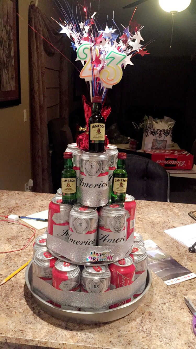 Bud Weiser Beer Can Cake Happy 23rd Birthday To This