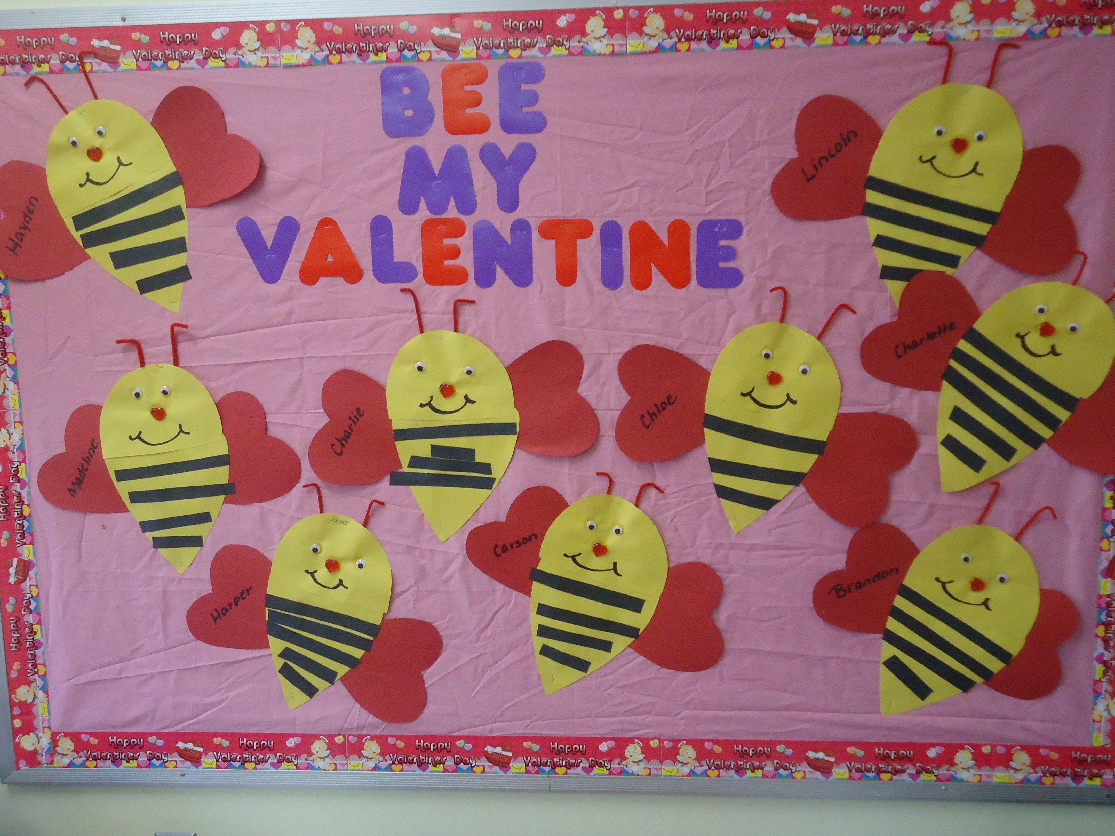 Valentine Bulletin Boards Kindergarten Vtwctr